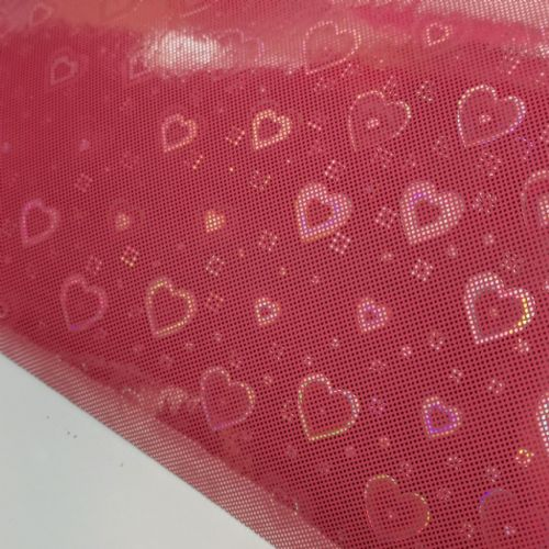 Twinkle Hearts Cherry Pink